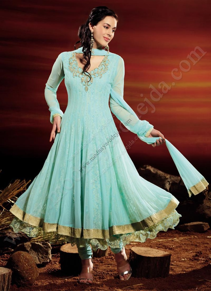 Светло-зелёное платье / туника из жаккардовой ткани, украшенное вышивкой, люрексом, печатным рисунком и стразами