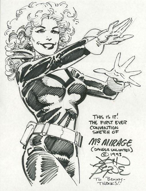 Byrne Danger Unlimited Ms. Mirage 1993