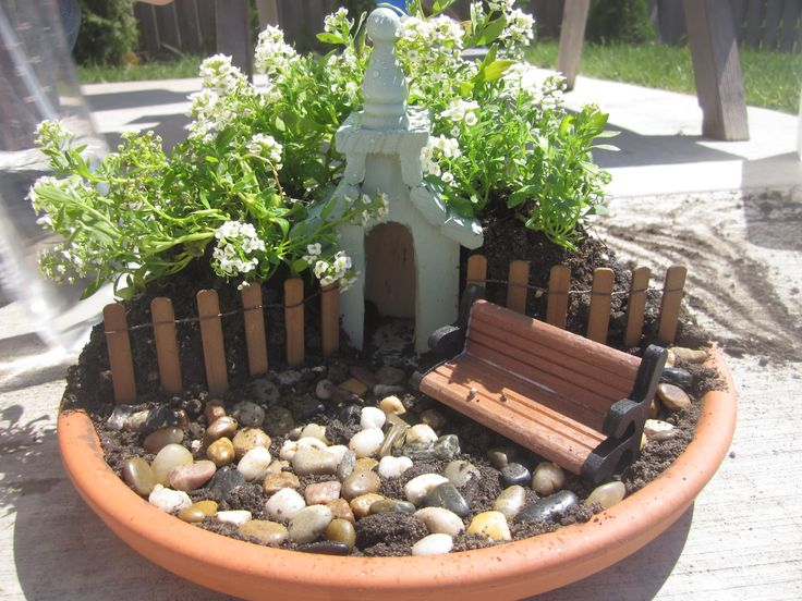 Fairy Garden Sets | ... The Set Up Of THIS Easter Garden We Made