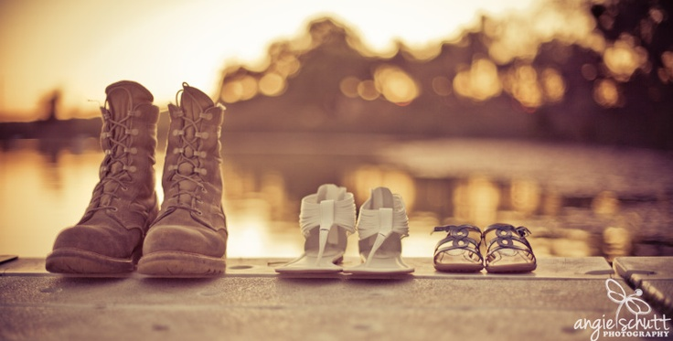 It takes unique, special and patient people to make up a military family.     www.mymilitarytravel.com