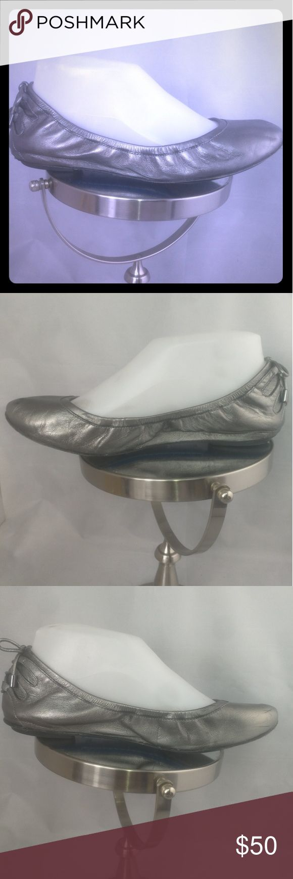 Maria Sharapova by Cole Haan Size 8.5 Ballet Flats Pre-owned Excellent Condition Normal Wear. Flats has some minor scuff marks still wearable.  PLEASE refer to all pics of this item to see all details and defects. I'm available to answer all your questions about this item. Cole Haan Shoes Flats & Loafers
