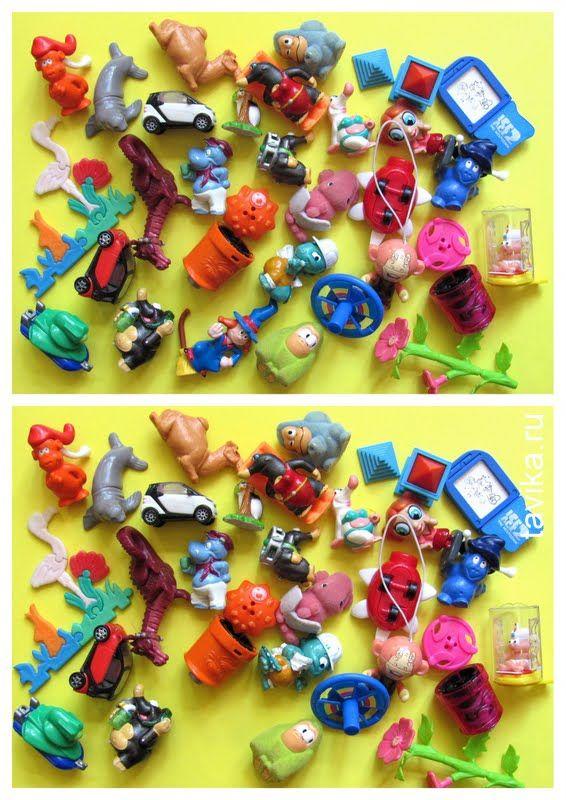 Как придумывают игрушки для киндеров?