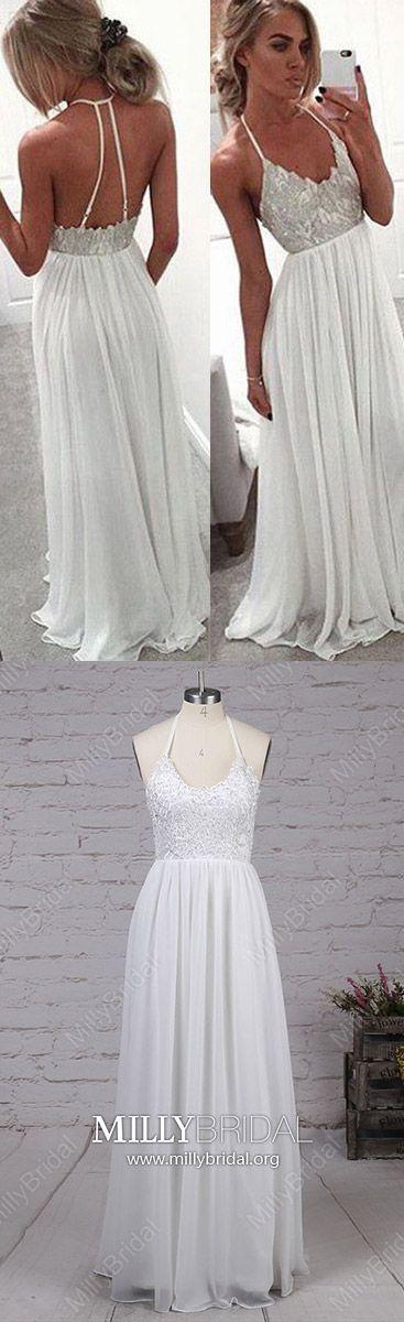 66 best White Prom Dresses images on Pinterest   Cute dresses ...