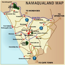Namaqualand map