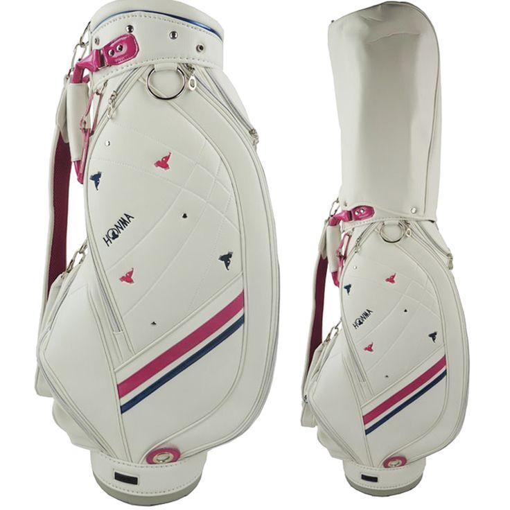 Cooyute New WOMEN Golf bag High quality PU Golf clubs bag in choice 8.5 inch HONMA Golf Cart bag Free shipping #Affiliate