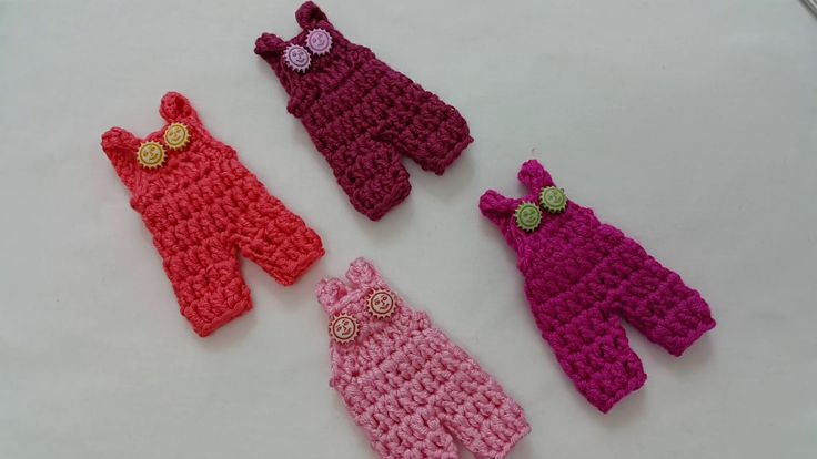 How to crochet mini romper كروشيه ميني افرول توزيعات