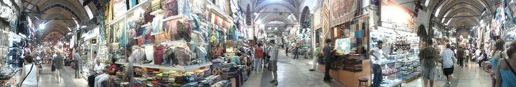 #Panoramique à l'intérieur du #grand_bazar d' #Istanbul en #Turquie !