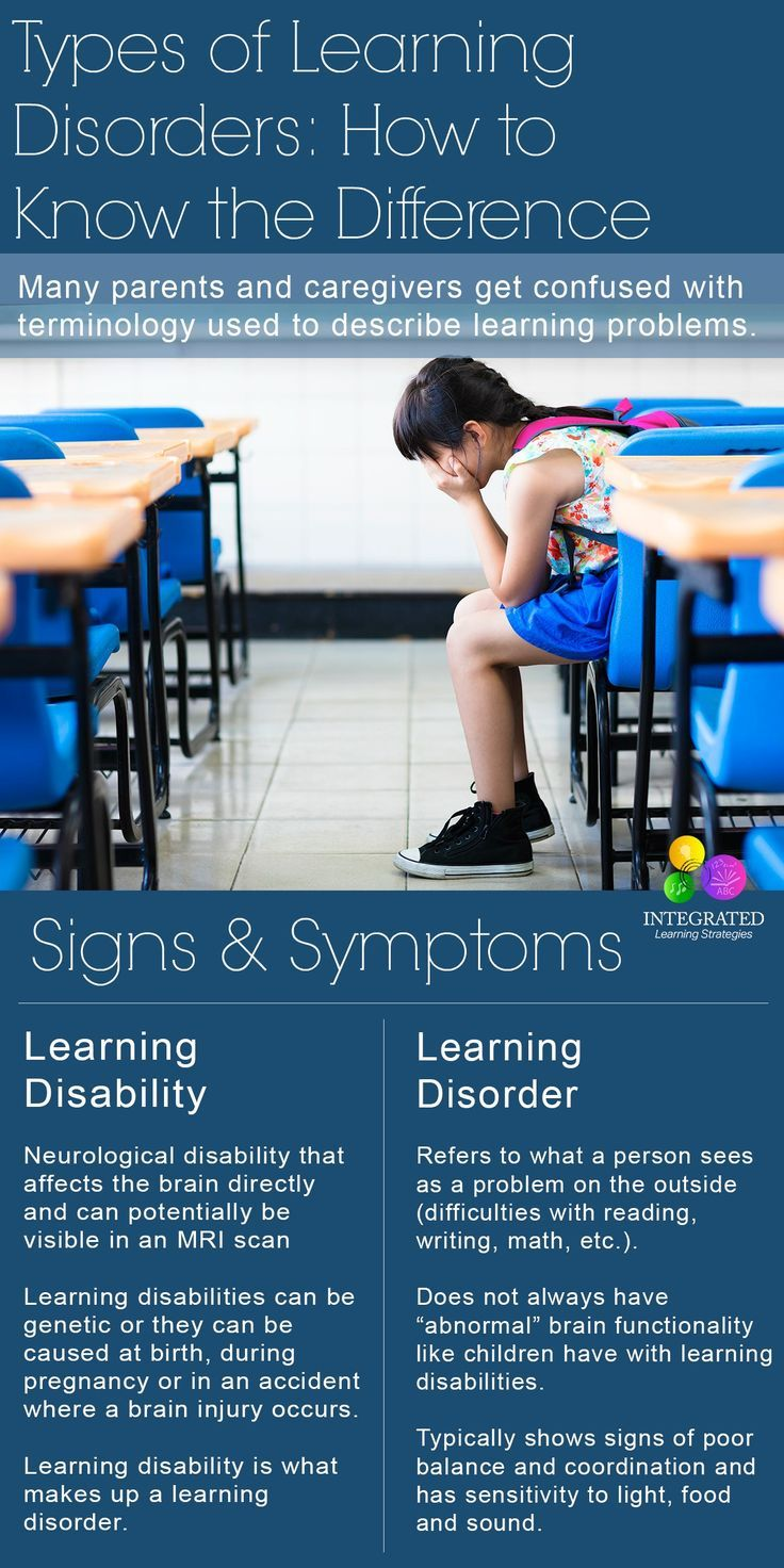 Types of Learning Disorders: How to know the difference in learning delays