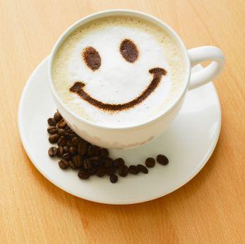 coffee always makes me smile