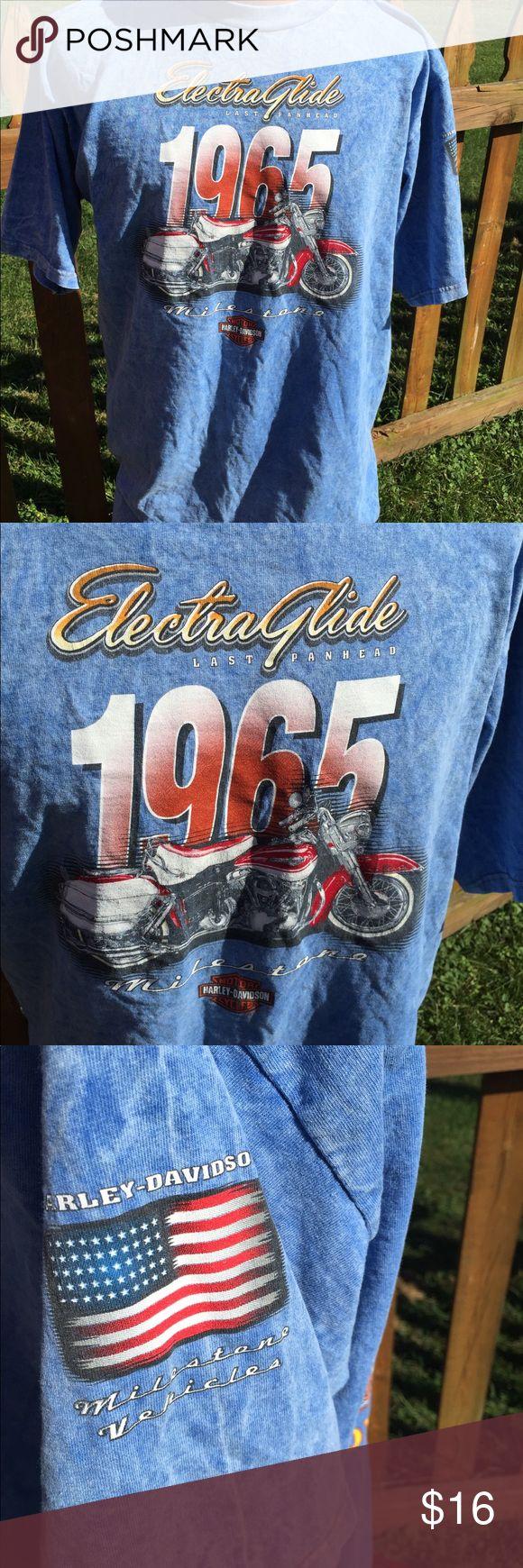 Harley davidson mens electra glide t shirt size l