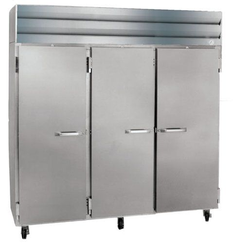 Reach In, Half Door Refrigerators with Casters, Size:  82.5 X 35.38 X 78 Commercial Fridge and Freezer. Large Industrial Refrigerator. Powerful Refrigerator. Heavy-Duty Fridge. Restaurant, Bars, Hotels, Caf Industrial Equipment.  #HowardMcCray #MajorAppliances