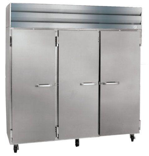 Reach In, Half Door Refrigerators with Casters, Size:  82.5 X 35.38 X 78 Commercial Fridge and Freezer. Large Industrial Refrigerator. Powerful Refrigerator. Heavy-Duty Fridge. Restaurant, Bars, Hotels, Caf Industrial Equipment.  #HowardMcCray #MajorAppliances