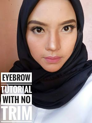 Beginner Beauty Enthusiast: HOW TO MAKE EYEBROW TUTORIAL / TUTORIAL CARA MEMBU...