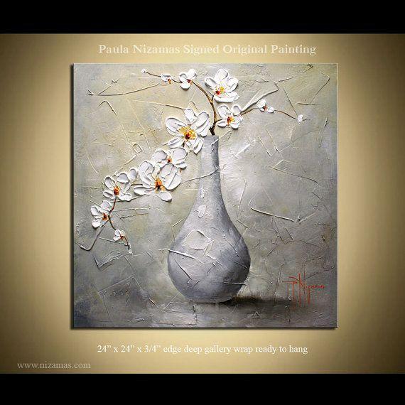 Paula Nizamas  Acrylic on gallery-wrapped stretched canvas panel.