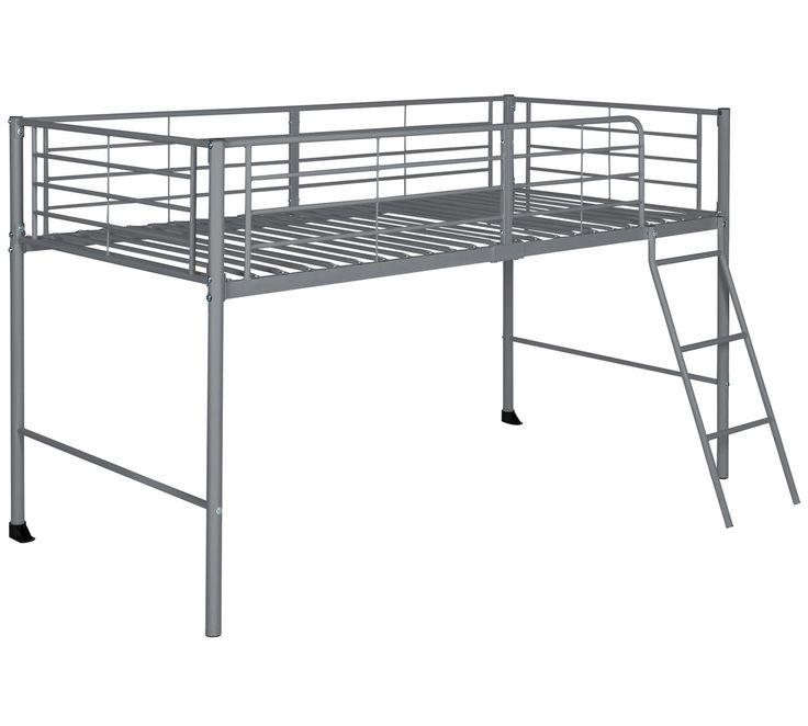 Buy HOME Lucas Mid Sleeper Bed Frame - Grey at Argos.co.uk, visit Argos.co.uk to shop online for Children's beds, Beds, Bedroom furniture, Home and garden