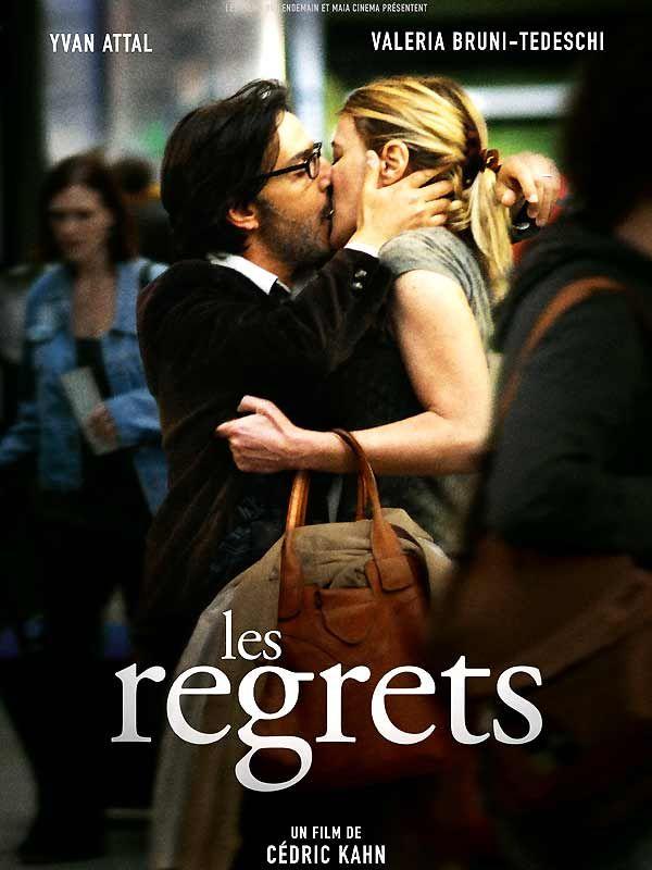 Les Regrets est un film de Cédric Kahn avec Yvan Attal, Valeria Bruni Tedeschi. Synopsis : Mathieu Lievin, 40 ans, architecte parisien, prend la route pour rejoindre la petite ville de son enfance où sa mère vient d'être hospitalisée en urge