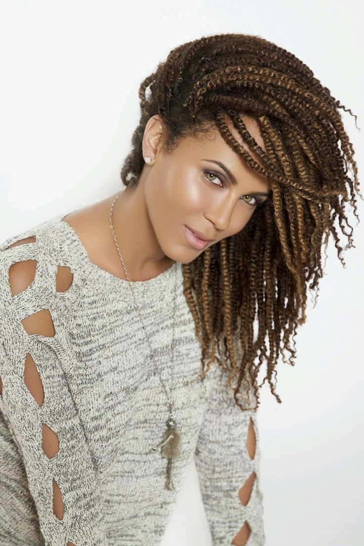 HAIR & Color- Kinky Twists - Nicole Ari Parker