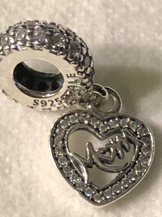 cebf28b6271 Pandora Charms, Center of My Heart Mom Charm, #supplies @EtsyMktgTool  #pandoracharms #authenticpandora #pandoraauthentic #charm #charms