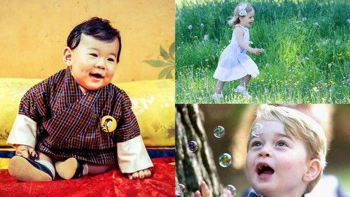 Mari Saksikan Anak-anak Keluarga Kerajaan di Dunia yang Menggemaskan