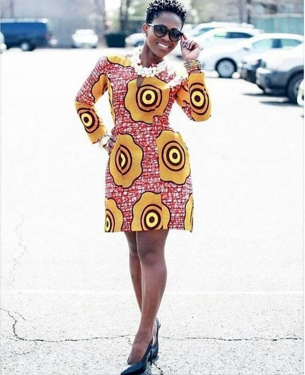 40 Latest Ankara Gown Styles You Can't Miss