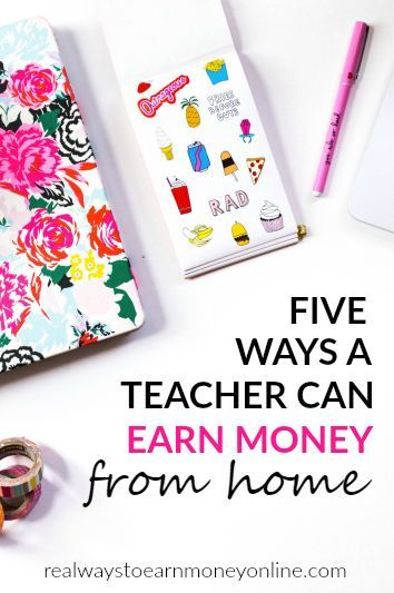 Are you a teacher who could use a little extra money -- or maybe even an income -- that you earn from home? You certainly aren't alone. And lucky for you there are a lot of different avenues for earning money from home if you are a teacher. You likely already have the necessary skills and qualifications for several different home-based jobs. Here are some ideas. Virtual Tutoring. There are a ton of companies that hire people to ...