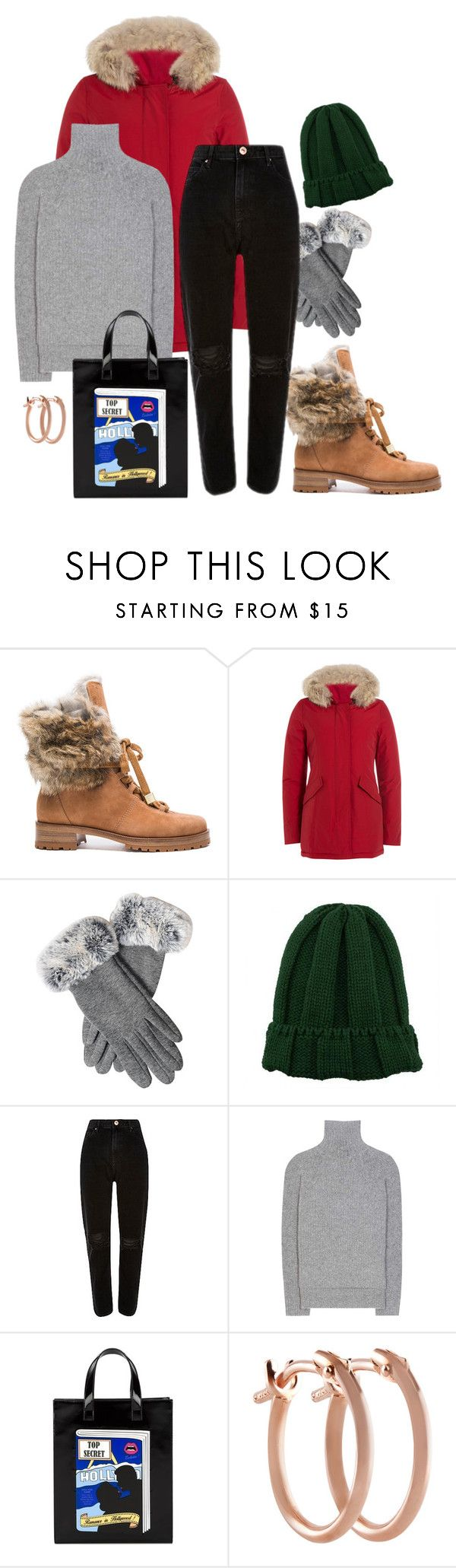 """Roast &  Potatoes"" by chelsofly on Polyvore featuring Alexandre Birman, Woolrich, Haider Ackermann, Yazbukey and Pori"