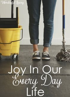 Do you struggle to find joy in your everyday tasks and life? You are not alone. Yet, joy comes when we change our mindset and focus.