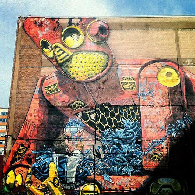 PIXEL PANCHO http://www.widewalls.ch/artist/pixel-pancho/ #street #art #urban…💠Street Art 💠More Pins Like This At FOSTERGINGER @ Pinterest💠