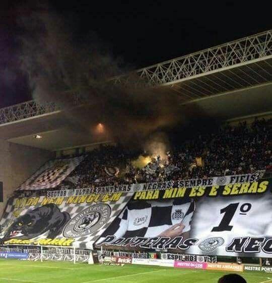 Boavista FC x FC Porto  Ultras do Boavista (Panteras Negras) ontem no Derby da Invicta pela liga portuguesa