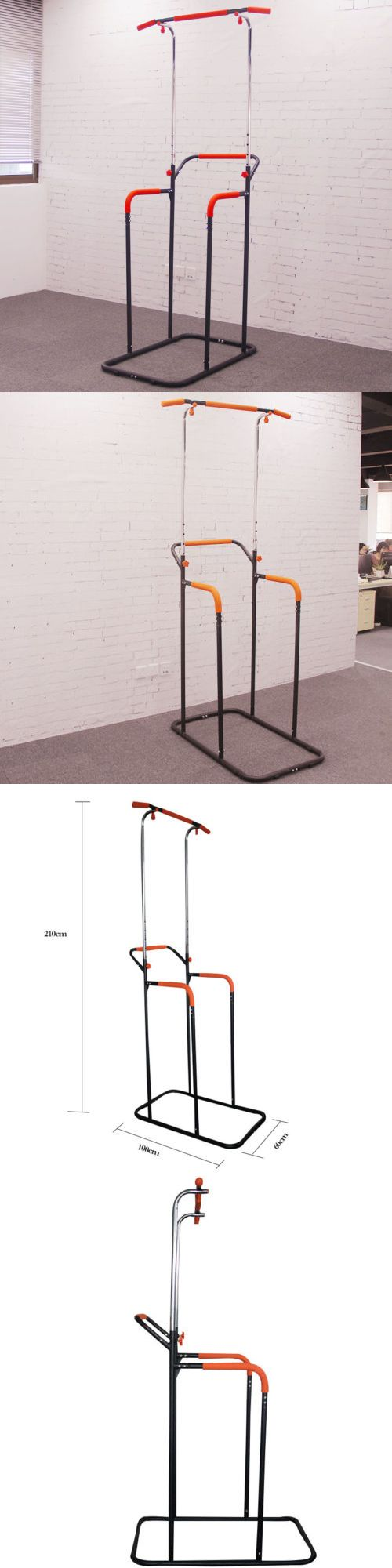 Pull Up Bars 179816: Dip Station Chin Up Tower Rack Pull Up Weight Stand Bar Raise Workout Gym Tools -> BUY IT NOW ONLY: $65.55 on eBay!