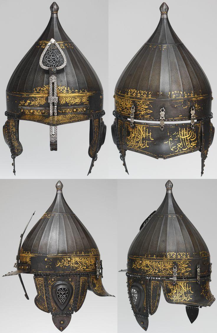 Yelmo turco otomano tipo chichak - Siglo XVI