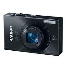 Canon ELPH 520 HS 10.1MP Digital Camera - Black