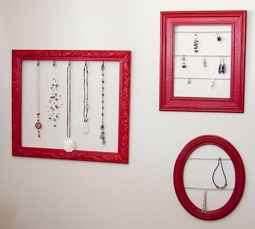 Jewelry Display Frames