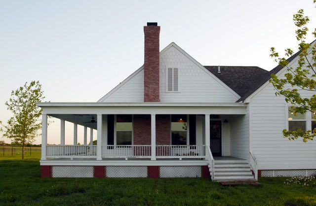 Rockinu0027 Farmhouse W/ Wrap Around Porch In Texas! (6 HQ Pictures