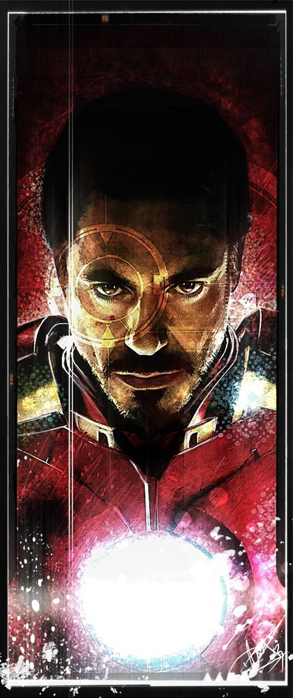 The Avengers - Iron Man by Daniel Scott Gabriel Murray *                                                                                                                                                      Mais