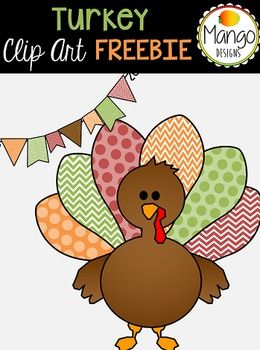 1 Turkey (in both color & black and white), 1 banner (in both color & black and white)If you enjoy this free set, make sure to check out my other fall clip art and digital paper sets that go along with this!Thanksgiving Clip Art SetFall Digital PapersPlease leave feedback if you download this product :)______________________________________________Mango Designs is created by Kelsey Mango.