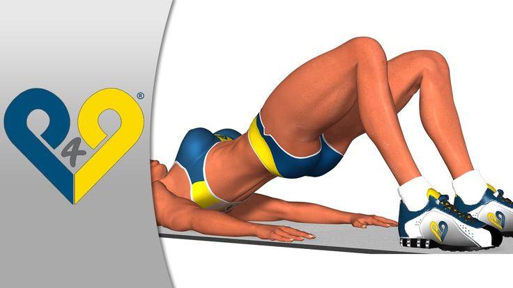 Kalça eritme hareketleri, HIZLI güzel kalça - egzersiz hareketleri video...