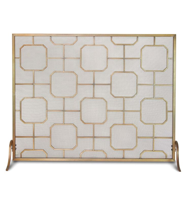 Madison Single Panel Fireplace Screen   Fireplace ScreensBest 25  Midcentury fireplace screens ideas only on Pinterest  . Fireplace Screens Portland Oregon. Home Design Ideas