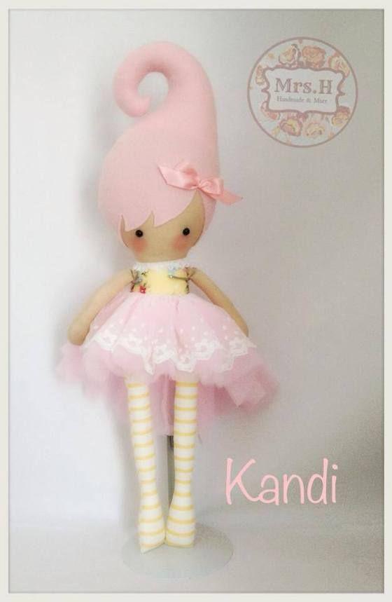 Image of KANDI ~ Handmade doll custom order