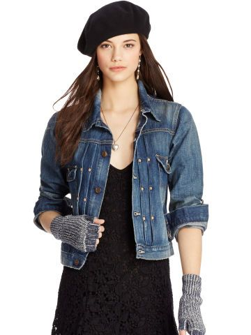 Veste femme ralph lauren denim & supply