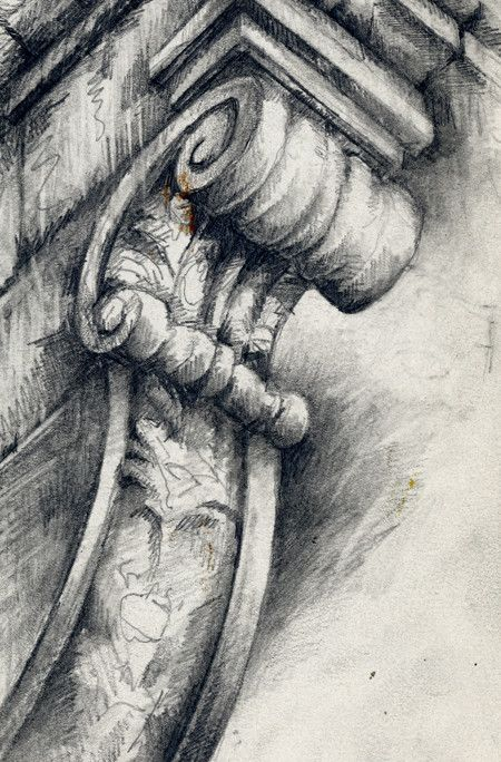 Ornate Architecture » Ian Murphy Sketchbooks