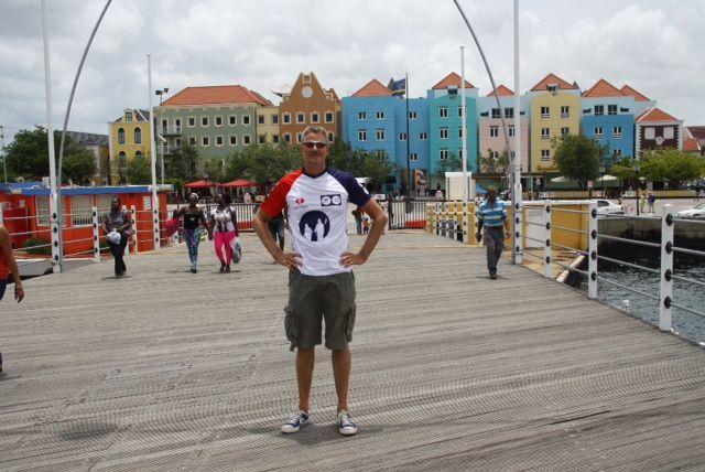 Theo Deur in Curacao