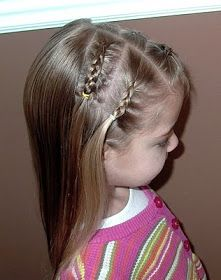 Shaunell's Hair: Little Girl's Hairstyles: Mini French Braids 10-15 Min