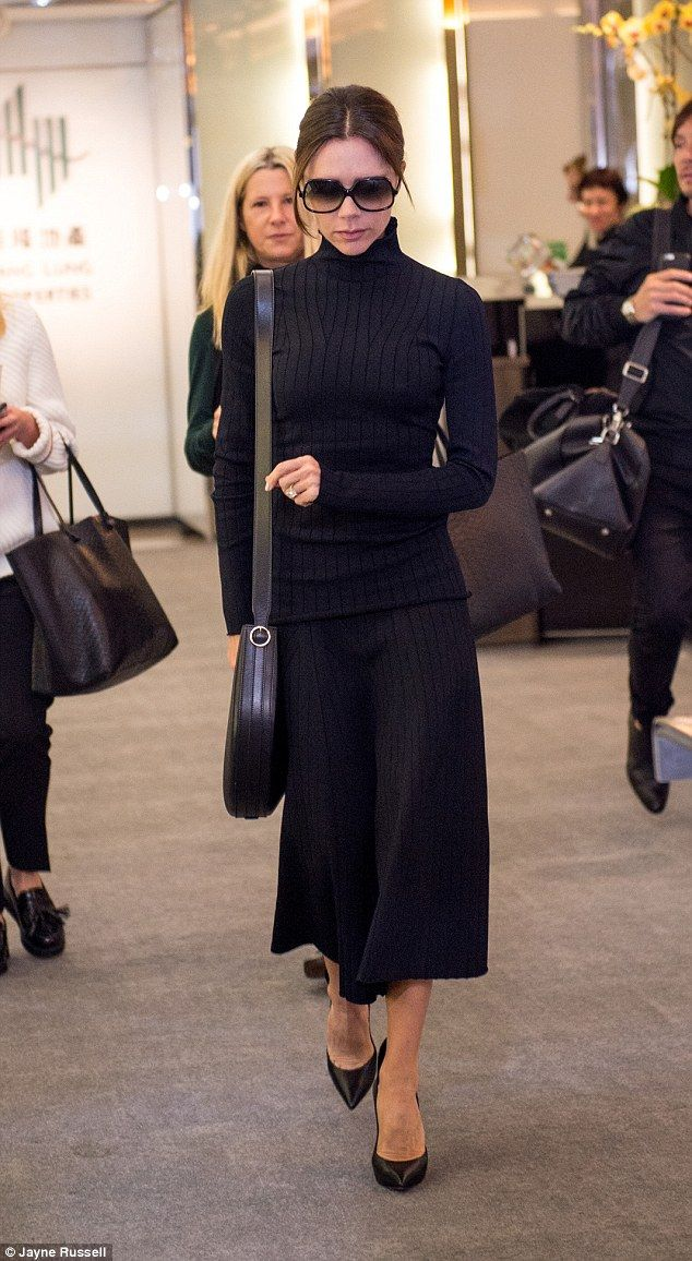 Victoria Beckham was mobbed as she officially opened her boutique in Hong Kong on March 17, 2016