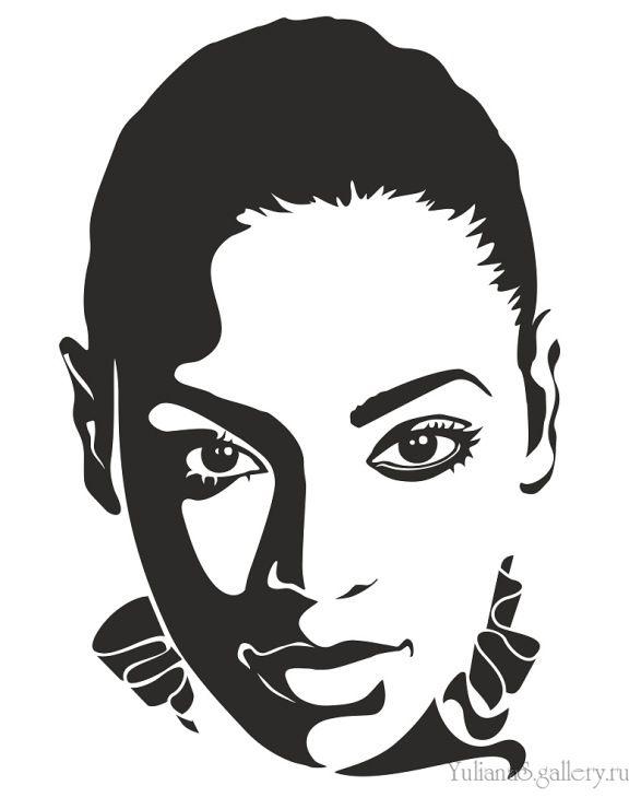 Gallery.ru / Beyonce - Компьютерная графика, живопись/Computer graphics, painting - YulianaS