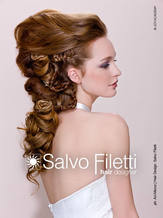 #wedding #collection #2013 by #salvo #filetti #hairdesigner #hairstyle #sposa #consulenza gratuita http://www.madeinjoya.com/sposa/consulenza.html