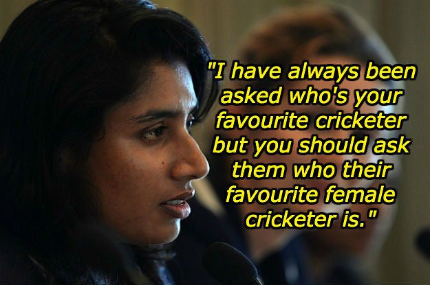 Indian Cricket Captain Mithali Raj Perfectly Shut Down A Reporter's Sexist Question