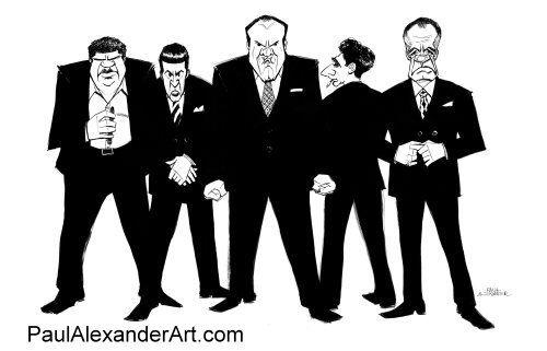 THE_SOPRANOS_CAST by Paul Alexander