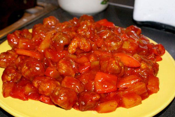 Свинина кисло сладкий по вьетнамски