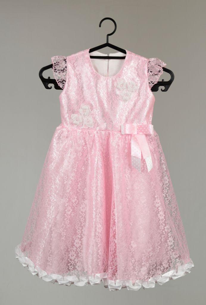 Rochita pentru botez roz